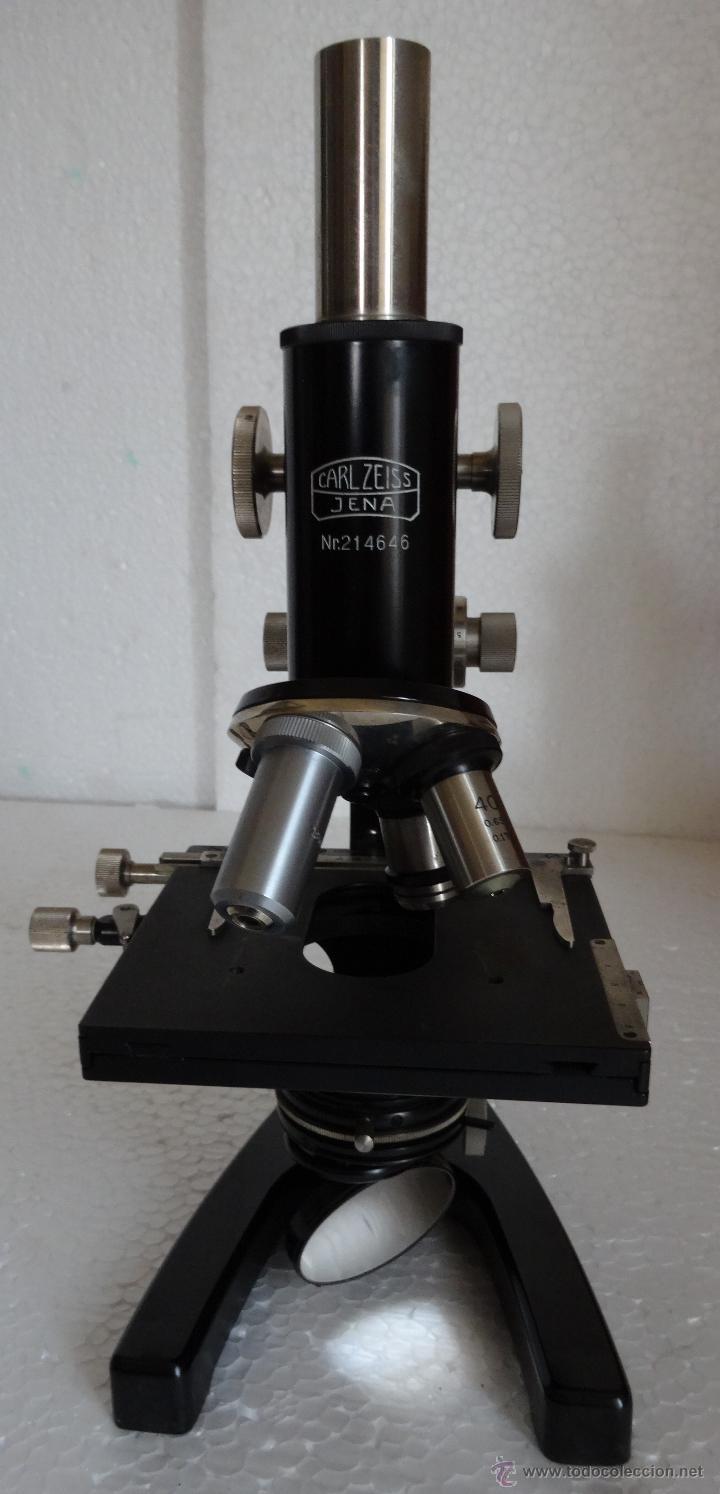 MICROSCOPIO ALEMÁN CARL ZEISS - 1 (Antigüedades - Técnicas - Instrumentos Ópticos - Microscopios Antiguos)
