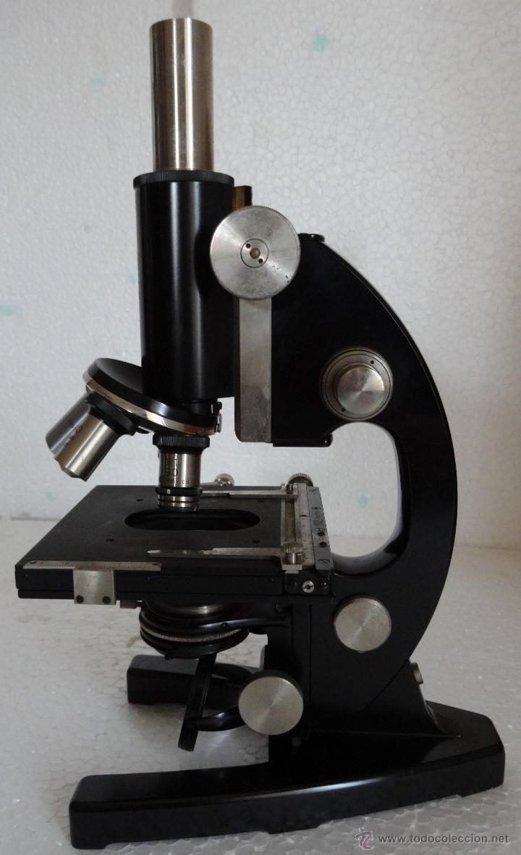 Antigüedades: MICROSCOPIO ALEMÁN CARL ZEISS - 1 - Foto 6 - 42972307