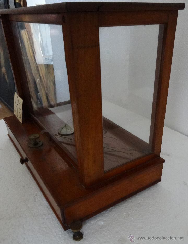 Antigüedades: BALANZA DE PRECISIÓN SARTORIUS WERKE - 18 - Foto 2 - 42972599