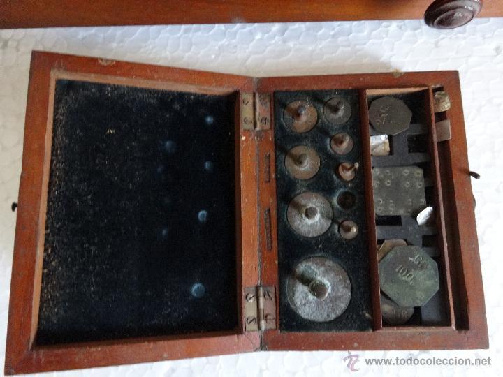 Antigüedades: BALANZA DE PRECISIÓN SARTORIUS WERKE - 18 - Foto 6 - 42972599