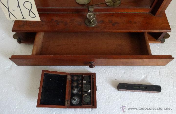 Antigüedades: BALANZA DE PRECISIÓN SARTORIUS WERKE - 18 - Foto 7 - 42972599