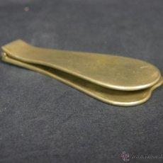 Antigüedades: PALETA OTORRINOLARINGOLOGO OTORRINO PLEGABLE METAL CROMADO FFS S XIX PPIOS XX 8,5X3,7CMS. Lote 46559390