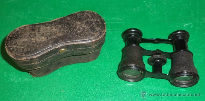 PRISMÁTICOS ANTIGUOS EN FUNDA ORIGINAL,BUEN ESTADO,ORIGINALES,AÑOS 20-30,PUEDE SER DE ÓPERA (Antigüedades - Técnicas - Instrumentos Ópticos - Prismáticos Antiguos)