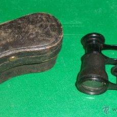 Antigüedades: PRISMÁTICOS ANTIGUOS EN FUNDA ORIGINAL,BUEN ESTADO,ORIGINALES,AÑOS 20-30,PUEDE SER DE ÓPERA. Lote 46562160