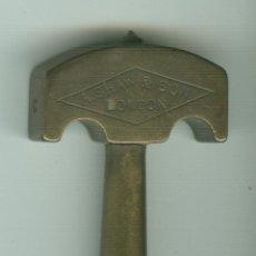 Antigüedades: CORTACRISTALES PERSONALIZADO DE A. SHAW & SON LONDON. Lote 46577527