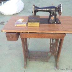 Antigüedades: MAQUINA DE COSER SINGER. Lote 46598866