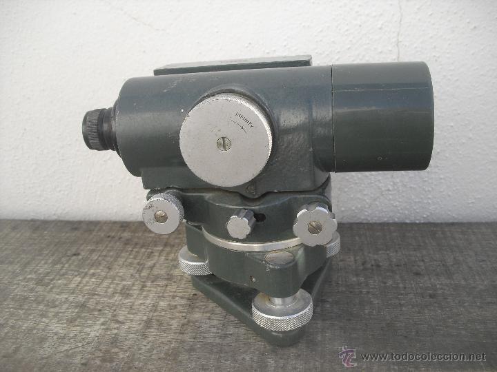 Antigüedades: Teodolito WATTS modelo SL122-II 27/290. Rank Precision industries Ltd. Leicester Made UK - Foto 5 - 46602737