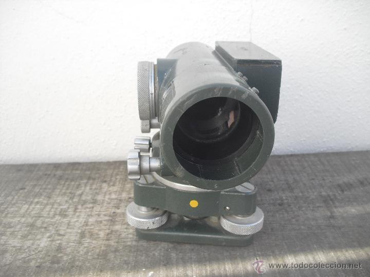 Antigüedades: Teodolito WATTS modelo SL122-II 27/290. Rank Precision industries Ltd. Leicester Made UK - Foto 6 - 46602737
