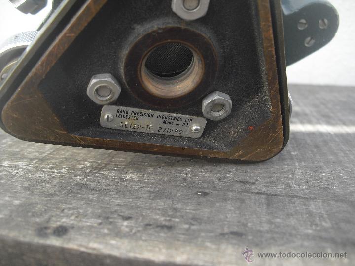 Antigüedades: Teodolito WATTS modelo SL122-II 27/290. Rank Precision industries Ltd. Leicester Made UK - Foto 8 - 46602737