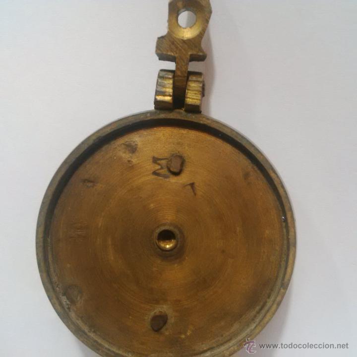 Antigüedades: ANTIGUOS PONDERALES DE BRONCE CON VASOS ANIDADOS PARA PESAR ORO -SIGLO XVIII - Foto 3 - 46612577