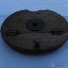 Antigüedades: PIEZA DE MADERA QUE SE USA PARA LA ELABORACION DE ALPARGATAS. Lote 46633844