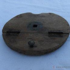 Antigüedades: PIEZA DE MADERA QUE SE USA PARA LA ELABORACION DE ALPARGATAS ,2. Lote 46633909