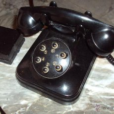 Teléfonos: TELÉFONO DE BAQUELITA - CENTRALITA STANDARD ELÉCTRICA - MADRID. Lote 46655067