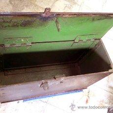 Antigüedades - ARCA CAJA FUERTE DE CAUDALES DE HIERRO FORJADO - 46659211
