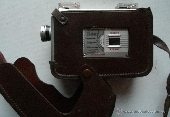 Antigüedades: ANTIGUA RARA CAMARA DE CINE A CUERDA 8 mm USA AÑOS 40/50 KODAK BROWNIE MOVIE MODELO IIA + FUNDA - Foto 5 - 46791067