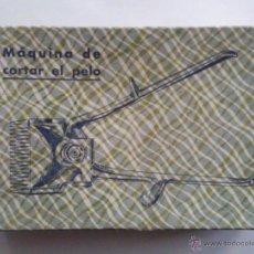 Antigüedades: ANTIGUA MAQUINILLA CORTAR EL PELO - Nº 0000 - A DE GESSE MADRID, CON CAJA ORIGINAL. Lote 118946304