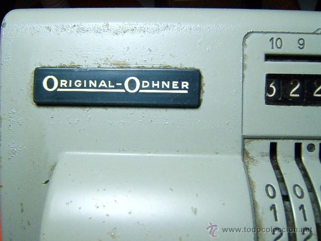 Antigüedades: CALCULADORA MANUAL ORIGINAL ODHNER SWEDEN-TOTALMENTE METALICA-AÑOS 20-30 ?-30X20 CM APROXIMADAMENTE - Foto 2 - 46894304