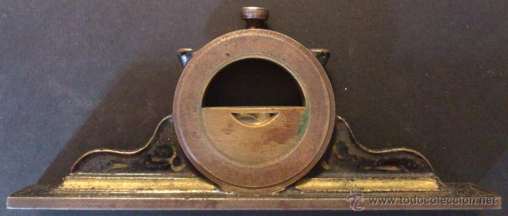 Antigüedades: Figura 0088 Nivel antiguo Davis Level & Tool Cos Adjustable Spirit Level 1867 Construction - Foto 2 - 46906434