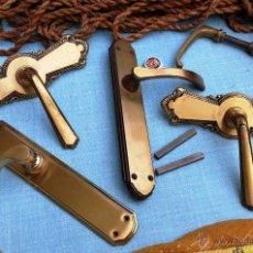 5 antiguas manillas o tiradores de puertas de b comprar - Manillas puertas antiguas ...