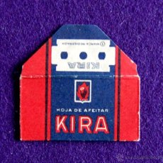 Antigüedades: HOJA DE AFEITAR ANTIGUA - KIRA - SIN USAR. Lote 194590208