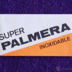 Antigüedades: HOJA DE AFEITAR ANTIGUA - SUPER PALMERA INOXIDABLE - SIN USAR. Lote 194590600