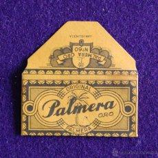 Antigüedades: HOJA DE AFEITAR ANTIGUA - PALMERA ORO - SIN USAR. Lote 179192521