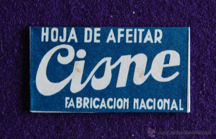 HOJA DE AFEITAR ANTIGUA - CISNE - SIN USAR (Antigüedades - Técnicas - Barbería - Hojas de Afeitar Antiguas)