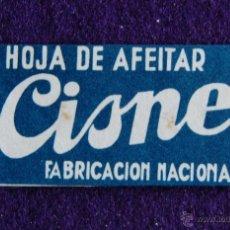 Antiquités: HOJA DE AFEITAR ANTIGUA - CISNE - SIN USAR. Lote 197156156