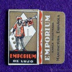 Antigüedades: FUNDA DE HOJA DE AFEITAR ANTIGUA - EMPORIUM DE LUJO. Lote 194590460
