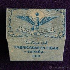 Antiquités: HOJA DE AFEITAR ANTIGUA - EL FENIX - SIN USAR. Lote 193811715