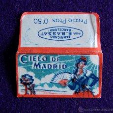 Antigüedades: HOJA DE AFEITAR ANTIGUA - CIELO DE MADRID - SIN USAR. Lote 237325665