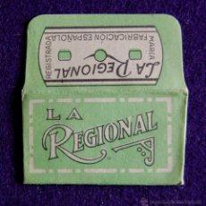 Antigüedades: HOJA DE AFEITAR ANTIGUA - LA REGIONAL - SIN USAR. Lote 237324975