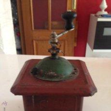 Antigüedades: MOLINILLO CAFE METAL MARCA ELMA. Lote 46958182