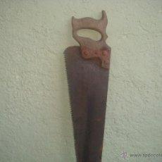 Antigüedades: ANTIGUO SERRUCHO DE CARPINTERO. Lote 46966601