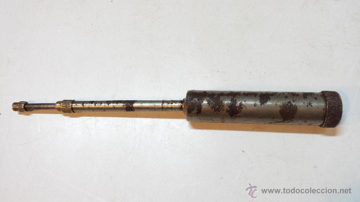 Antigüedades: LOTE 5 ENGRASADORA / MAQUINA ENGRASAR, DE TALLER MECANICO. EN BUEN ESTADO. - Foto 4 - 46970231