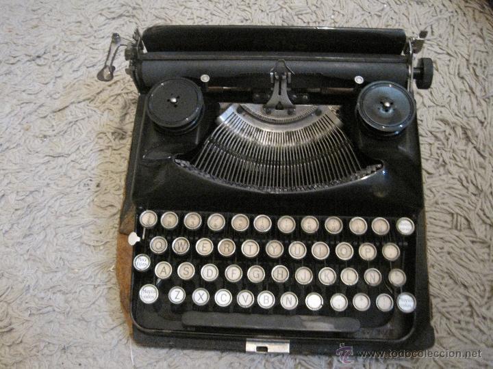 MAQUINA DE ESCRIBIR ERIKA (Antigüedades - Técnicas - Máquinas de Escribir Antiguas - Erika)