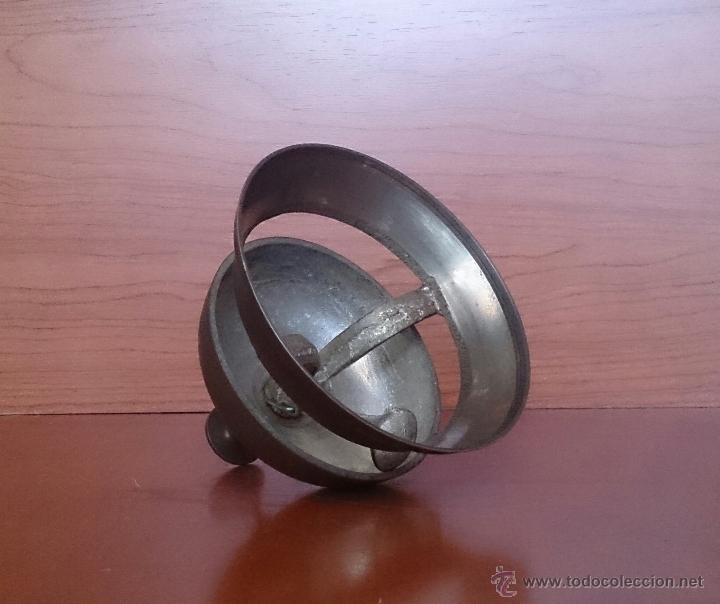 Antigüedades: Antiguo timbre llamador de recepción Hotel en bronce . - Foto 3 - 46978276