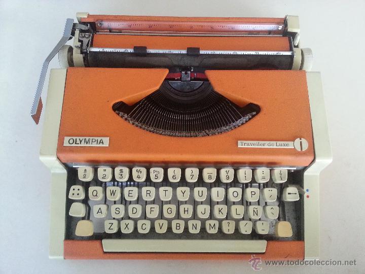 MÁQUINA DE ESCRIBIR OLYMPIA (Antigüedades - Técnicas - Máquinas de Escribir Antiguas - Olympia)