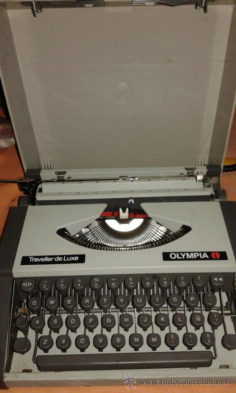 MAQUINA DE ESCRIBIR : OLIMPIA (Antigüedades - Técnicas - Máquinas de Escribir Antiguas - Olympia)