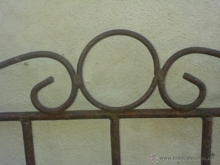 Antigüedades: Preciosa estanteria leja hierro y forja - para decoración shabby chic rústica comercios o cocina - Foto 2 - 47032077