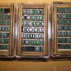 Antigüedades: IMPRENTA, LETRAS DE PLOMO - ORLAS- LOTE 3. Lote 47035941