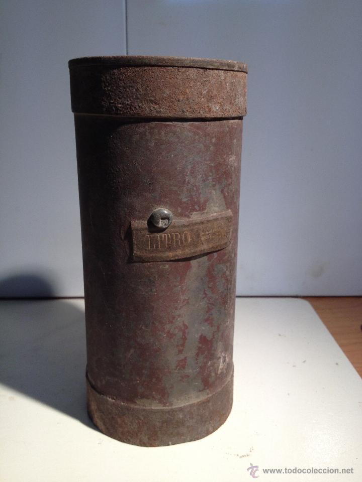 ANTIGUO MEDIDOR DE LIQUIDOS (D) (Antigüedades - Técnicas - Medidas de Peso Antiguas - Otras)