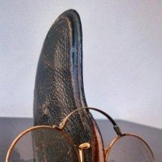 Antigüedades: ANTEOJOS PINCE NEZ EN ORO. PARÍS C.1880-90. Lote 47077957