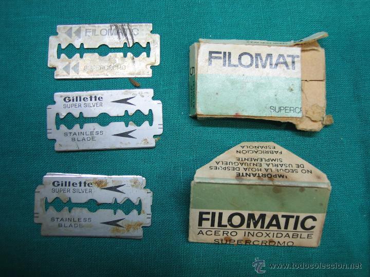 Antigüedades: Maquina Gillete de afeitar made in Englan - Foto 2 - 47124409
