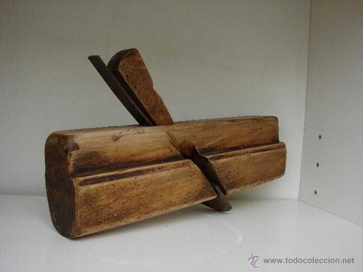 CEPILLO ANTIGUO DE MADERA (Antigüedades - Técnicas - Herramientas Profesionales - Carpintería )