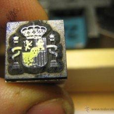 Antigüedades: IMPRENTA GRABADO TIPOGRAFICO - REF. G7 - EL TAMAÑO ESTA EN LA FOTO EN MM.. Lote 47190594