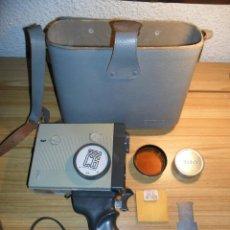 Antigüedades: TOMAVISTAS SUPER 8 EUMIG C6 CON ACCESORIOS (PARA COLECCIÓN) KODAK. Lote 47245411