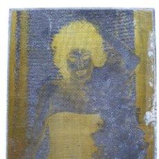 Antigüedades: PLANCHA DE IMPRENTA ,NEGATIVO DE FOTO DE 8,3 X 6,3 CMS CHAPA DE CINC. Lote 47252773