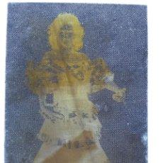 Antigüedades: PLANCHA DE IMPRENTA ,NEGATIVO DE FOTO DE 7,6 X 5,1 CMS CHAPA DE CINC. Lote 47253175
