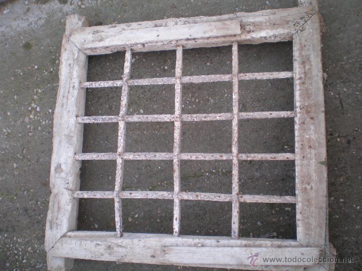 Lote de 6 rejas antiguas de hierro forjado forj comprar - Rejas de forja antiguas ...